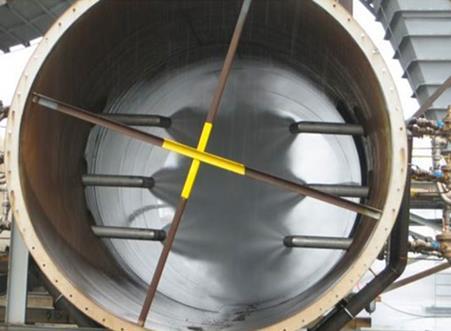 استفاده از اتمایزر نازل در ورودی آب به اسکرابر