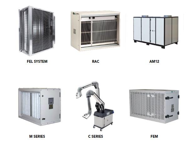 فیلترهای الکترواستاتیک محیطهای داخلی (Indoor)